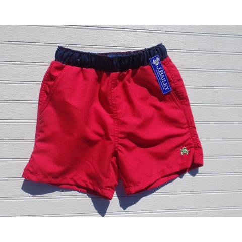 J. Bailey by The Bailey Boys - Red/Navy Board Shorts
