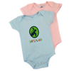 Loggerhead Apparel - Hatchling Onesie (Blue and Pink) (6M, 12M, 18M Available)