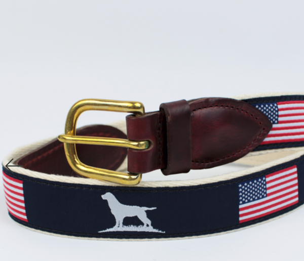 Over Under Clothing - Youth Ribbon Belt - Patriot