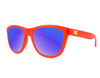Knockaround Sunglasses - UV400 Sun Protection - Frosted Bright Red w/ Moonshine Lens (Ages 1 - 5)