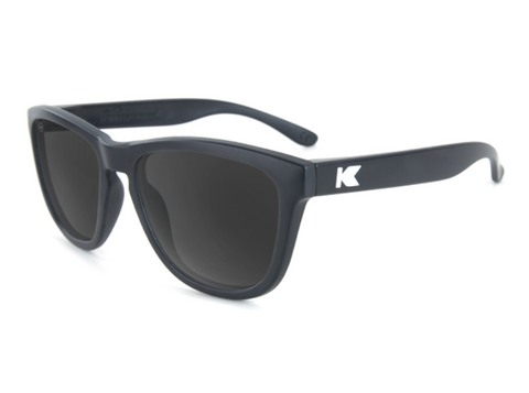 Knockaround Sunglasses - UV400 Sun Protection - Black and Smoke (Ages 1 - 5)
