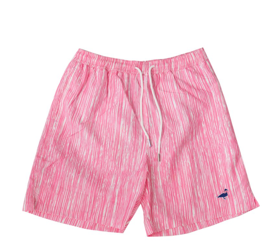 Properly Tied - Lil Ducklings Swim Shorts - Reef