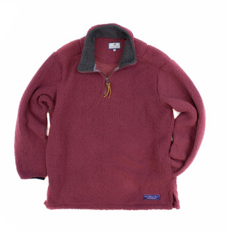 Properly Tied - Kensington Pullover - Maroon