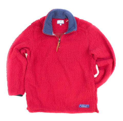 Properly Tied - Kensington Pullover - Red