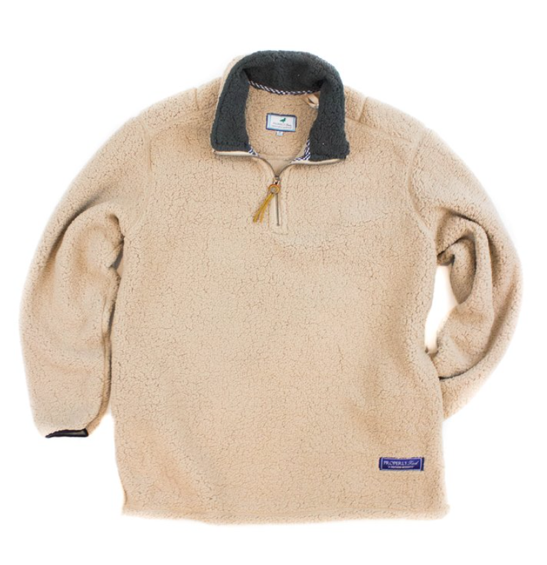 Properly Tied - Kensington Pullover - Tan