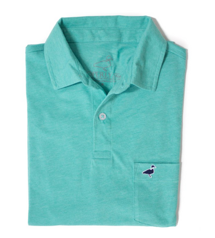 Properly Tied - Pique Polo - Soft Green