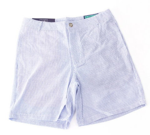 Properly Tied - Patriot Short - Blue/White Stripe