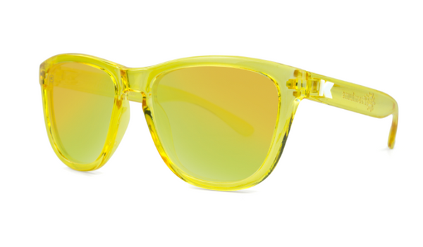 Knockaround Sunglasses - UV400 Sun Protection - Yellow Monochrome (Ages 1 - 5)