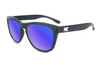 Knockaround Sunglasses - UV400 Sun Protection - Black and Moonshine (Ages 1 - 5)