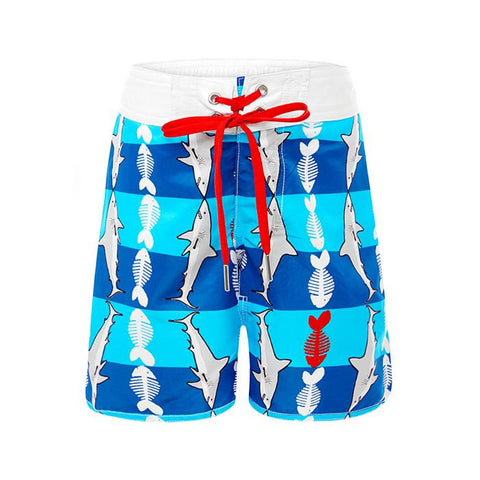 Aqua Blu - Toddler WaveRat Fish Food Boardshorts