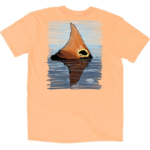 AFTCO - Youth Boys Redtail T-Shirt - Mango Heather