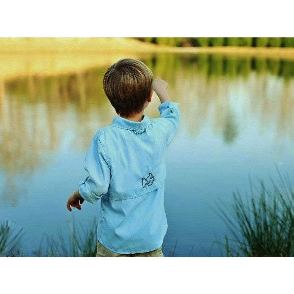 Prodoh Blue Sun Protective Youth Shirt
