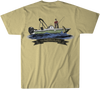 Youthful Cotton - Toddler, Youth, & Adult Lake Days SS Tee - Pale Yellow