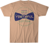 Youthful Cotton - Toddler, Youth, & Adult YC Bowtie SS Tee - Mango