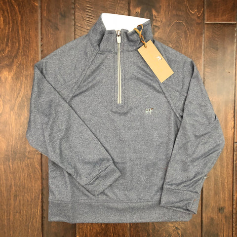 Southern Point - Wellington Youth Pullover - Midnight Heather