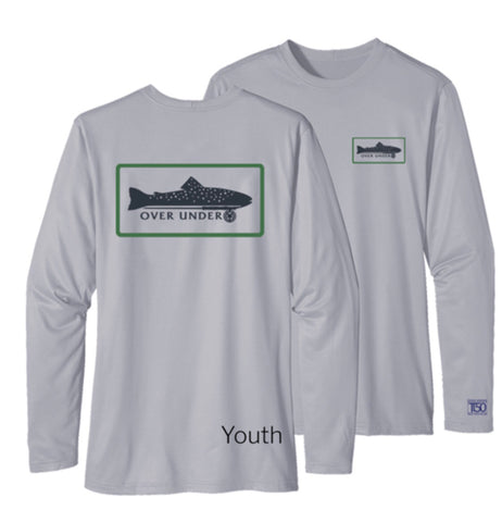 Over Under - L/S Youth Tidal Tech Trout on Fly