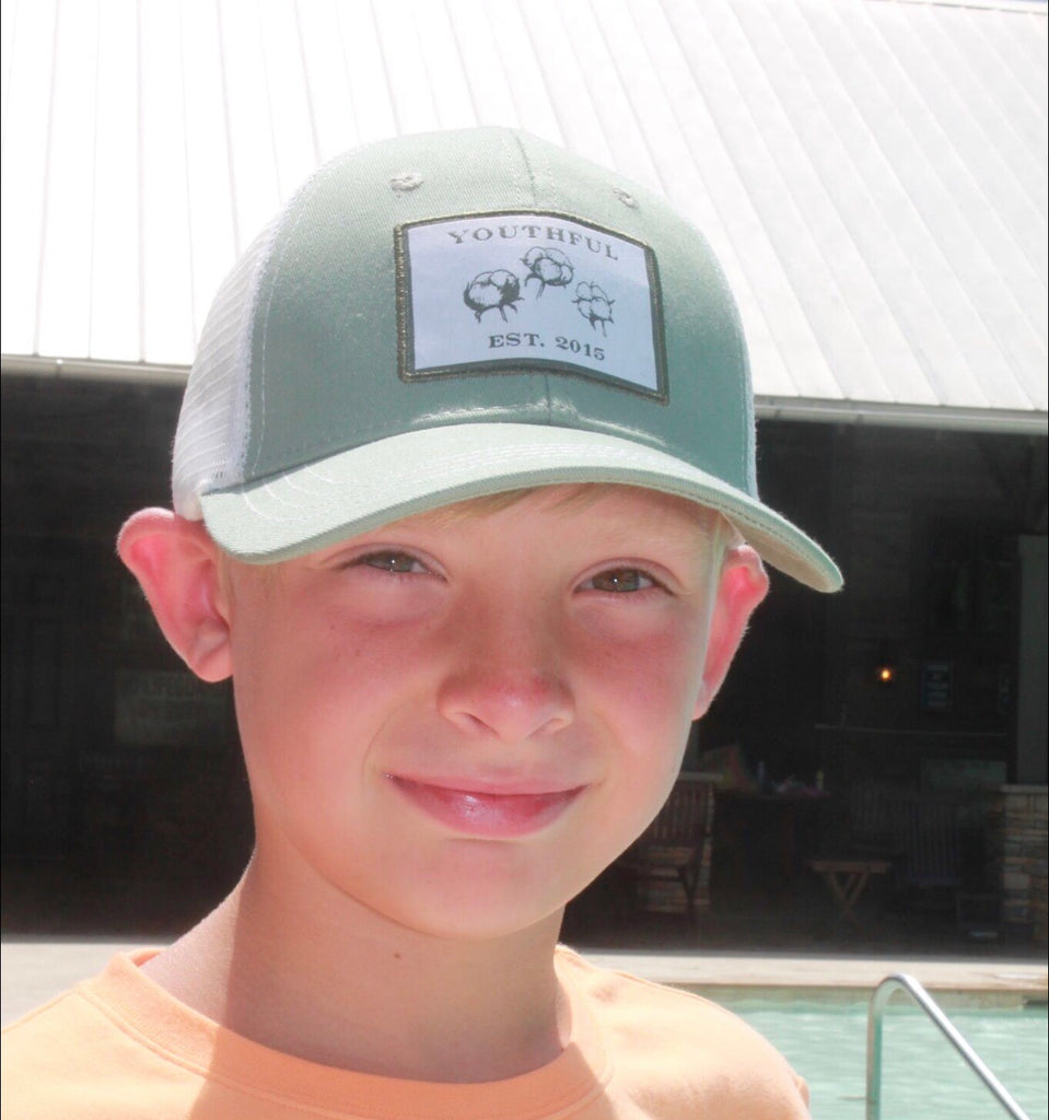 Youthful Cotton - Cotton Fields Trucker Hat - Youth & Adult