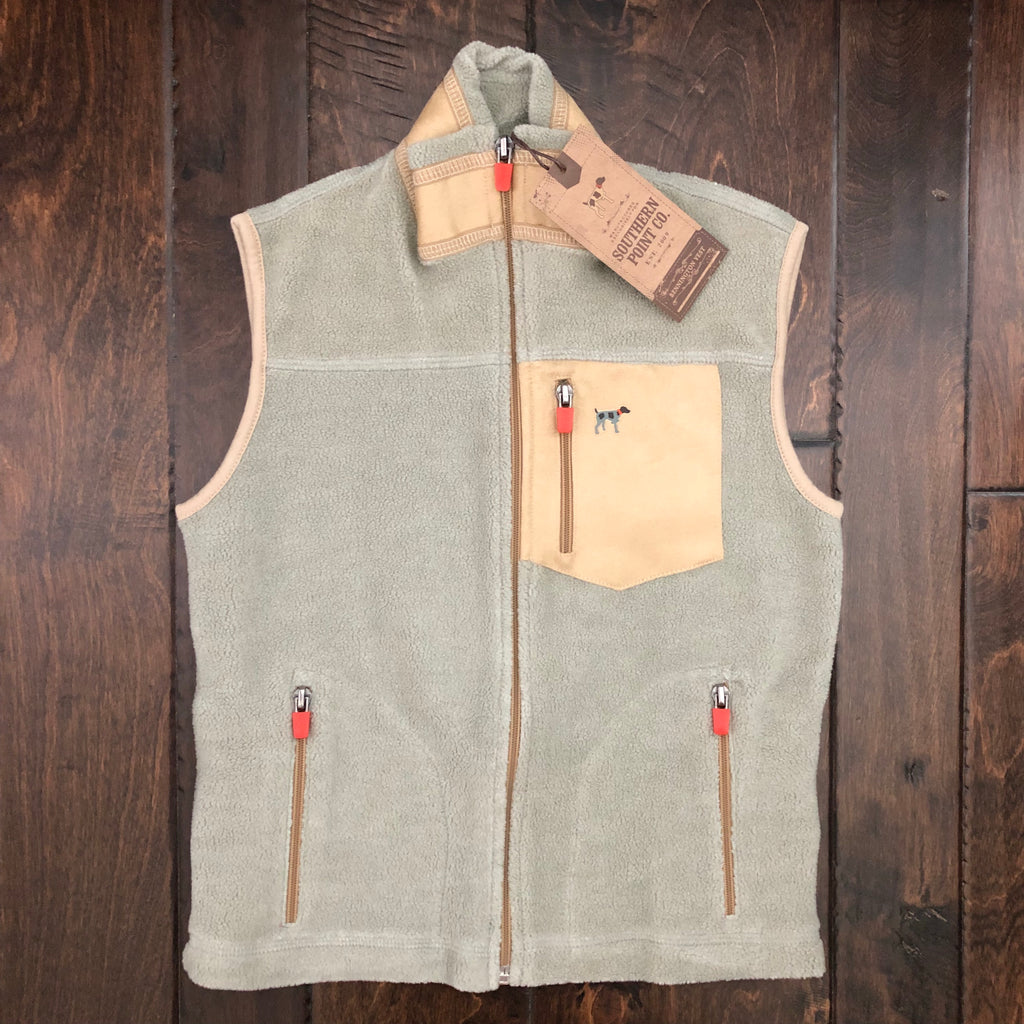 Southern Point - Youth Bennington Vest - Camel/Brown