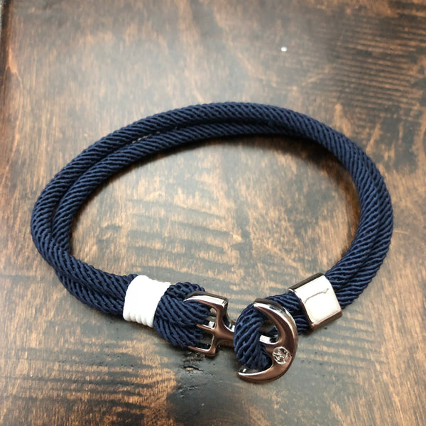 Youthful Cotton - Anchor Bracelet - Royal