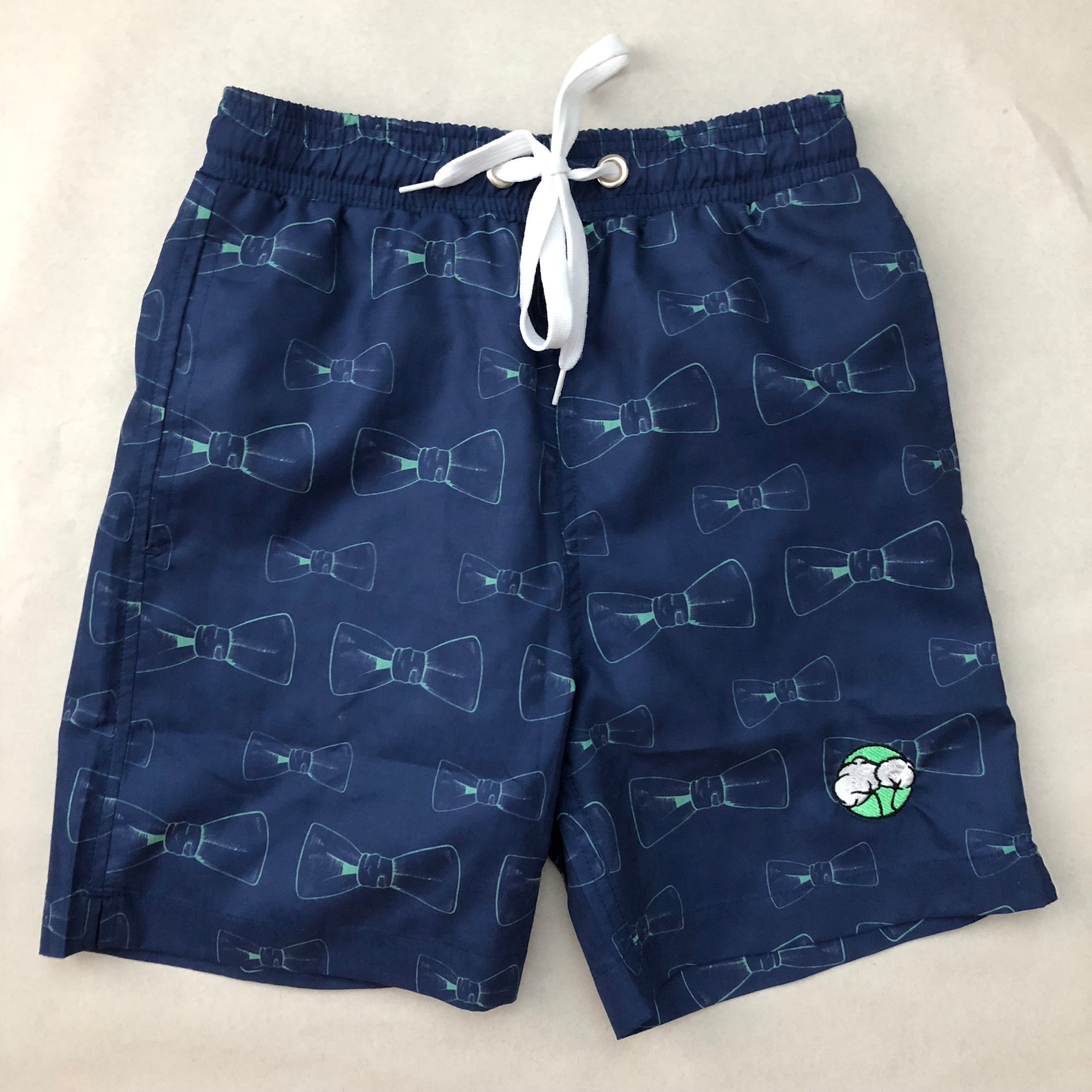 520979bf04 Toddler, Boys, and Mens Bowtie Swim Trunks - Youthful Cotton
