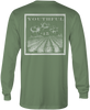 Youthful Cotton - Toddler, Youth, & Adult Cotton Fields LS Tee - Hunter Green