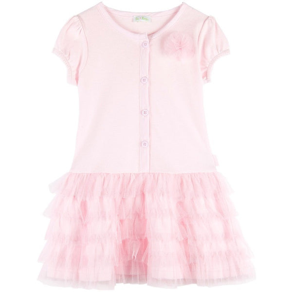 le top - Dragonfly Dreams Cap-sleeve Dress with Tiered Tulle Skirt (18M, 4T Available)