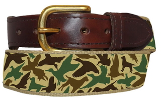 Over Under Clothing - Youth Ribbon Belt - Old School Camo