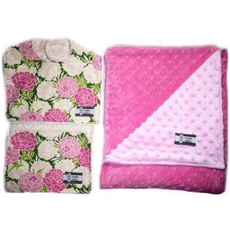 Camden's Collection - 3 Piece Gift Set- Mums Bib, Burp and Stroller Blanket