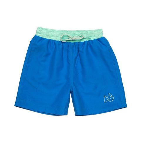 Prodoh - Solid Swim Trunks - Marina Blue