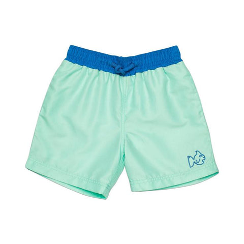 Prodoh - Solid Swim Trunks - Beach Glass