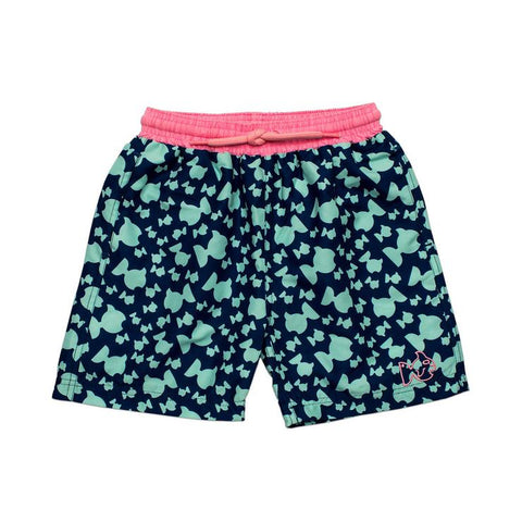 Prodoh - Fishy Swim Trunks - Navy