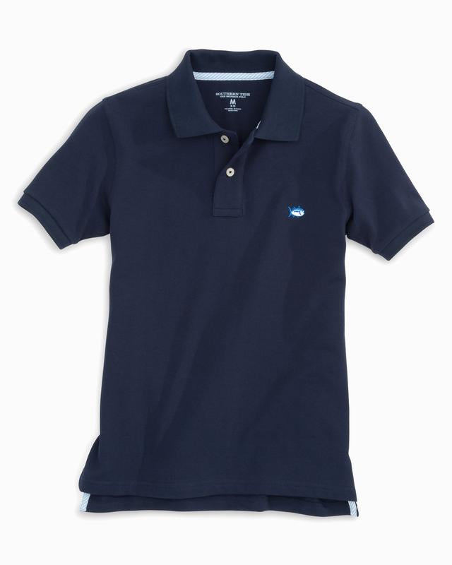 Southern Tide - Boys Skipjack Polo - True Navy