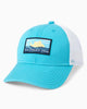 Southern Tide - Youth Washed Patch Trucker Hat - Hull Blue