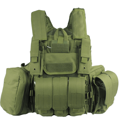 OneTigris Heavy Duty Molle Vest Combat Tactical Gear Vest Hunting Airsoft Paintball Protective Vest