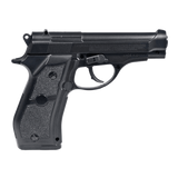 Swiss Arms 28877 P84 C02 Air Fixed Slide Metal Pistol, Black, 4.5mm