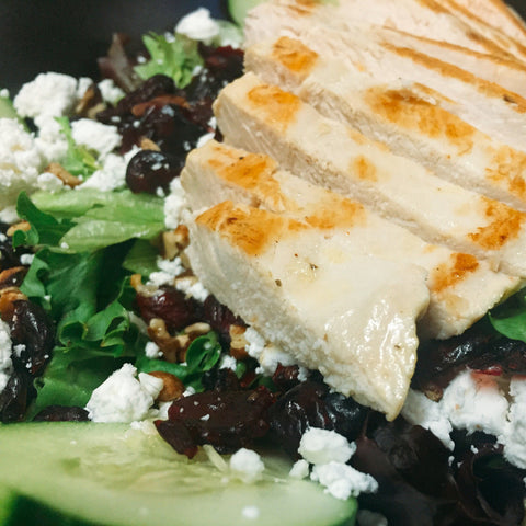Chicken Cranberry Salad Meal