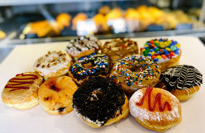 Assorted Gourmet Donuts