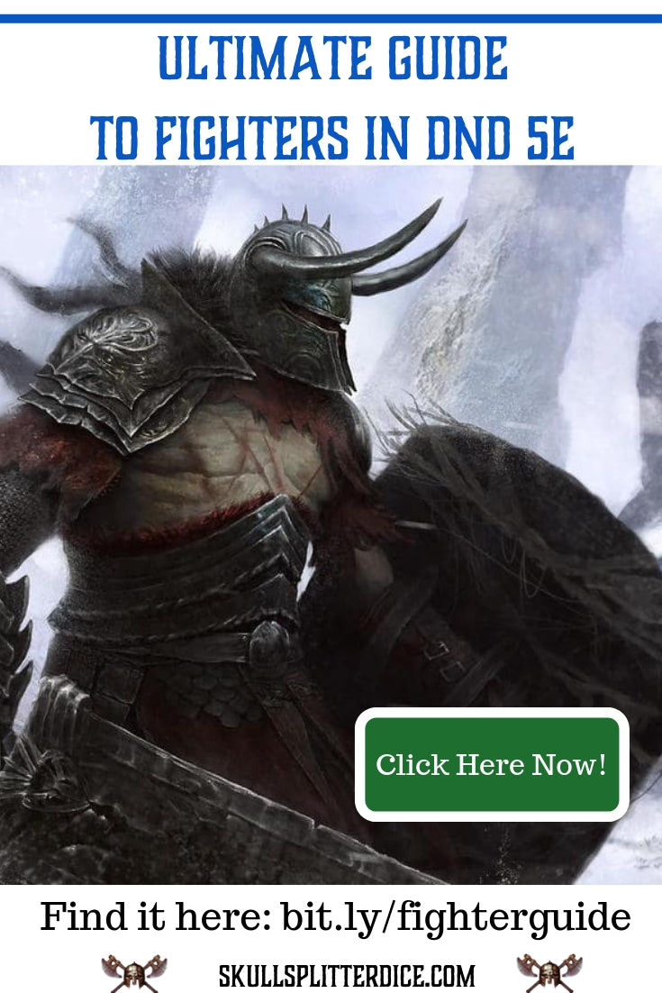 The Ultimate DND5e Fighter Class Guide for Dungeons and