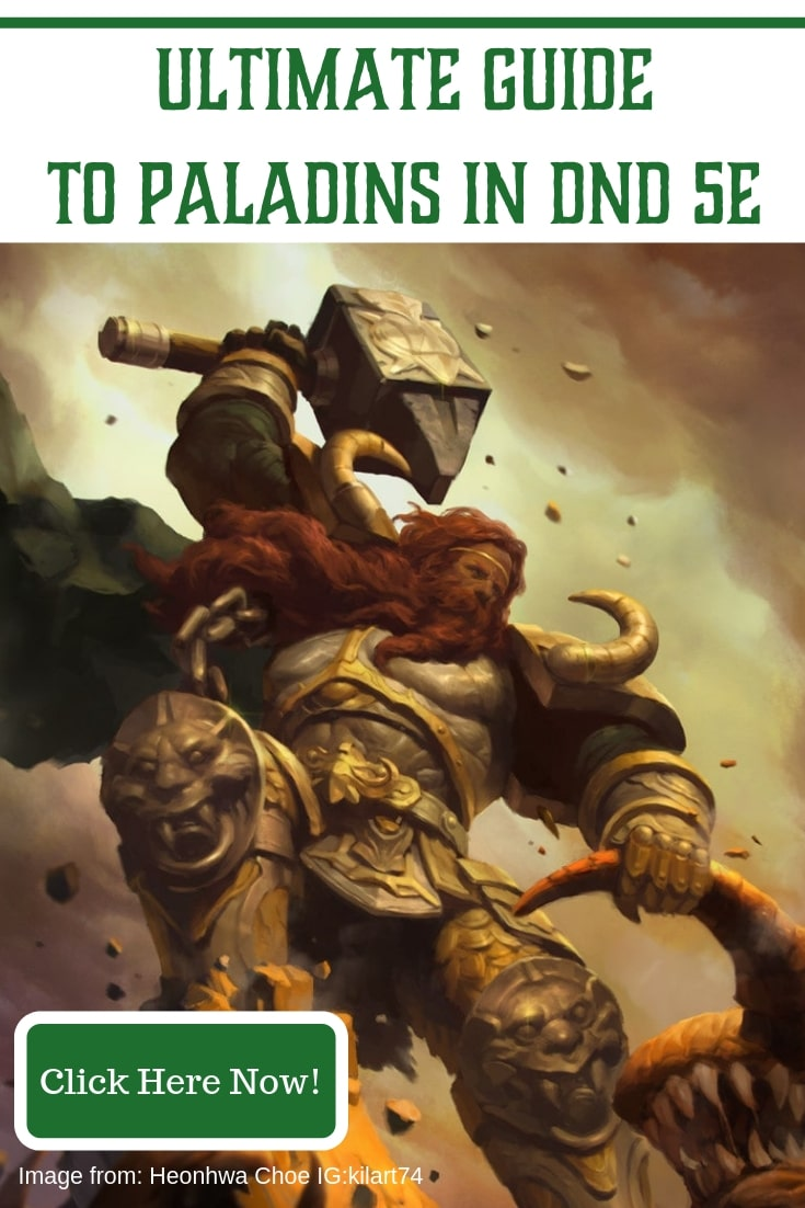 The Ultimate Paladin Class Guide to Dungeons and Dragons 5e