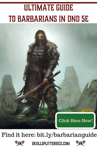 5e Barbarian Class Guide for Dungeons and Dragons