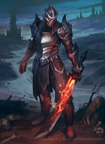 Blood Hunter 5e Class for Dungeons and Dragons
