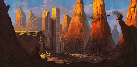 """Desert Fortress"" by Dominick Critelli"