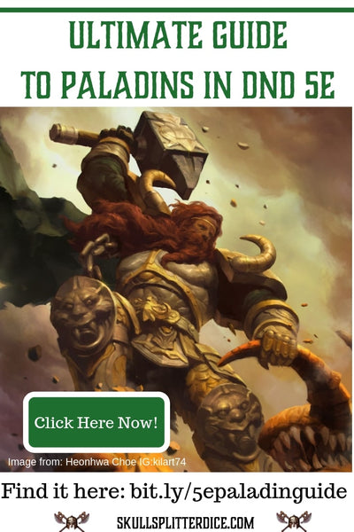 5e Paladin Guide for Dungeons and Dragons