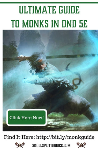 Ultimate 5e Monk Class Guide for Dungeons and Dragons