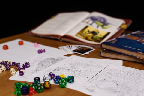 dungeons and dragons materials