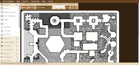 Dave's Mapper DND Map Making Tool
