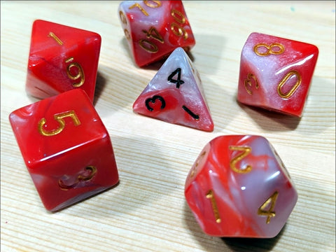 reinking dice with marker