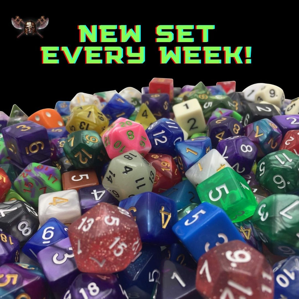 SkullSplitter Dice Subscription Sets