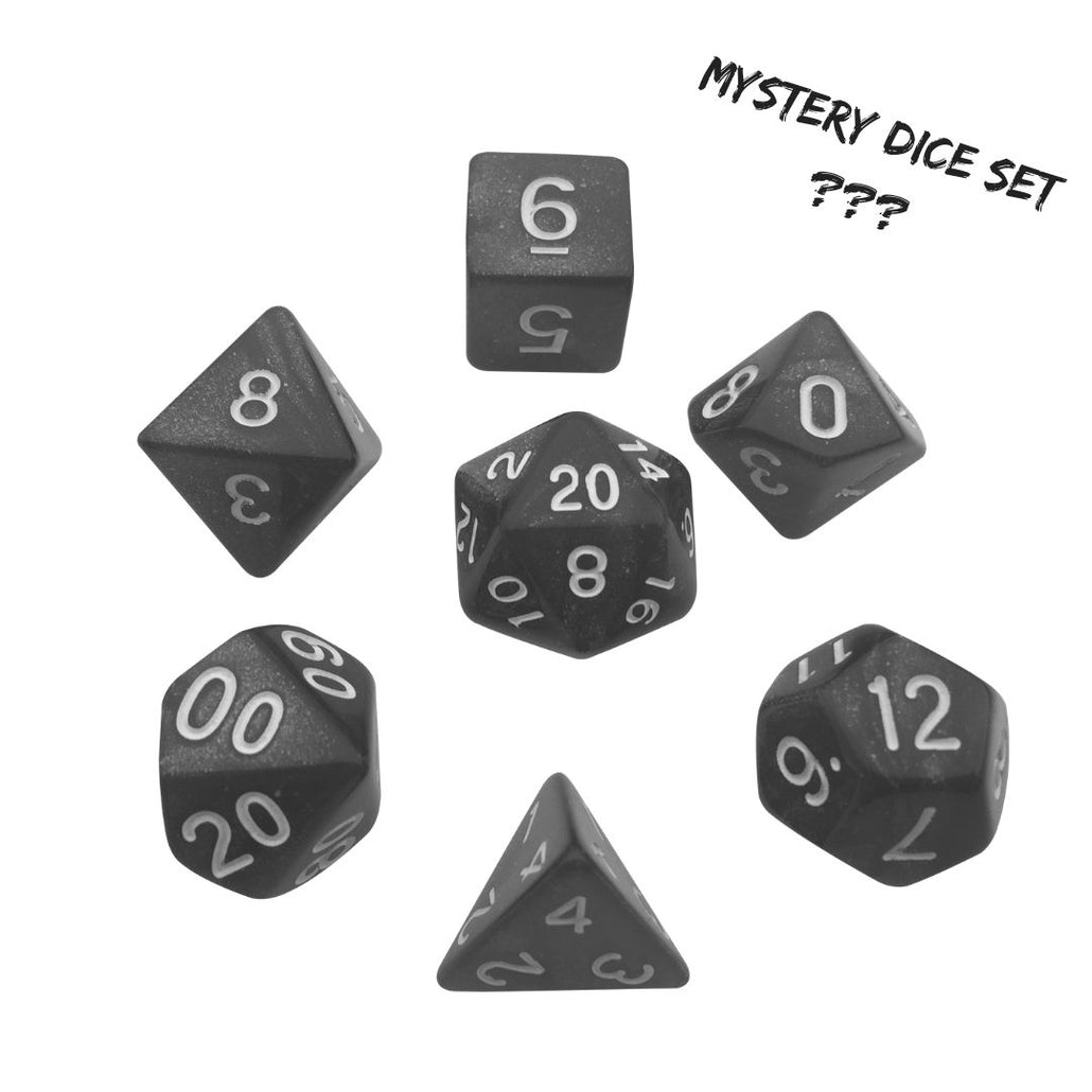 Mystery Dice Set for RPGs and Tabletop Games