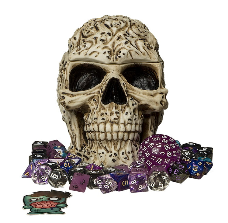 Necromancer Bundle - Necrotic Themed Polyhedral RPG Dice